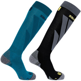 Salomon S/Access Calcetines Pack de 1 Hombre, fjord blue/black